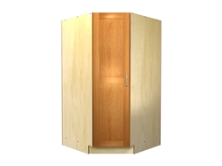 45 degree tall cabinet