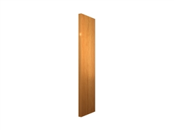 Tall Finished End Panel - SLAB WIDE STILE