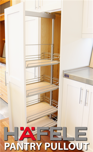 Pullout Hafele Pantry Shelves