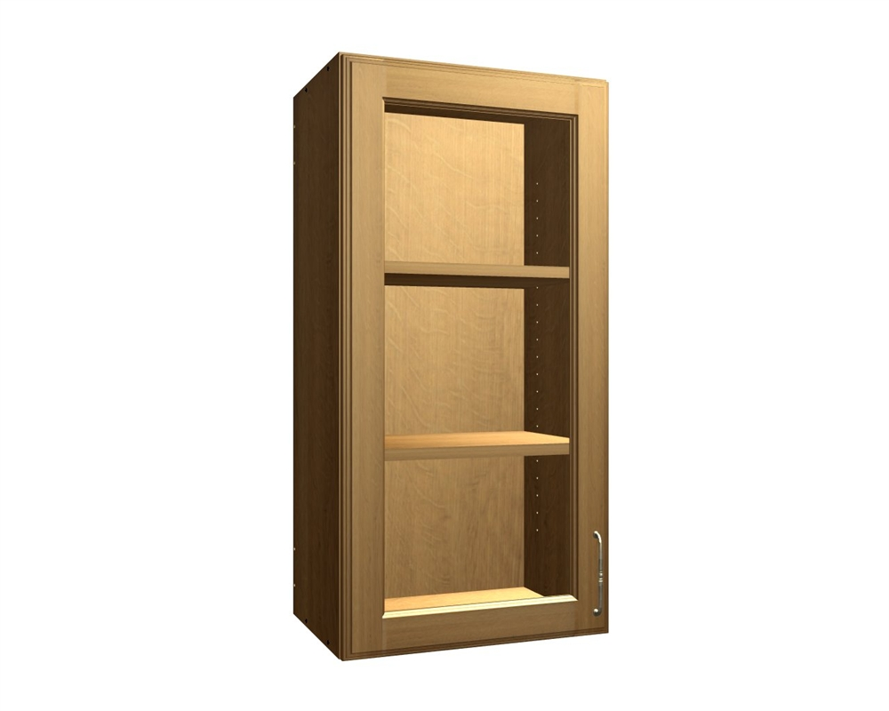 Glass door wall cabinet - 1 Glass Door Wall Cabinet