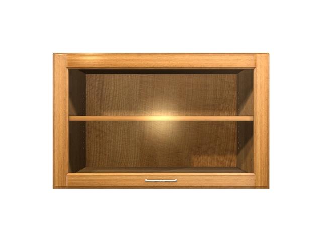1 Door Glass Flip Up Cabinet