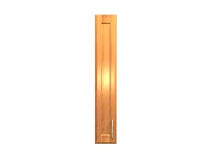 1 door wall cabinet slim version