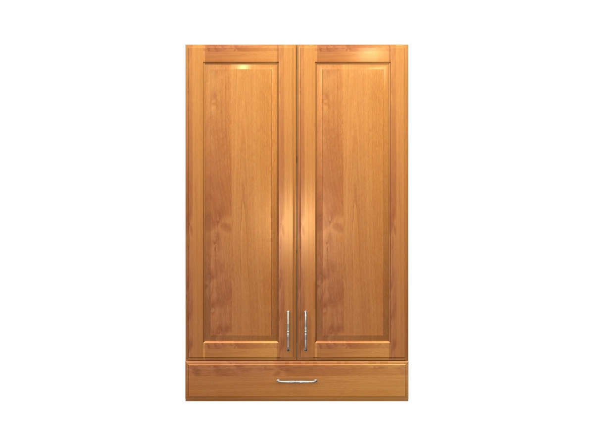 2 Door Wall Cabinet With One Drawer Larger Photo Email A Friend