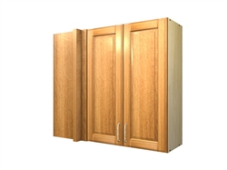 2 door blind corner wall cabinet (LEFT side hinged with integrated filler)