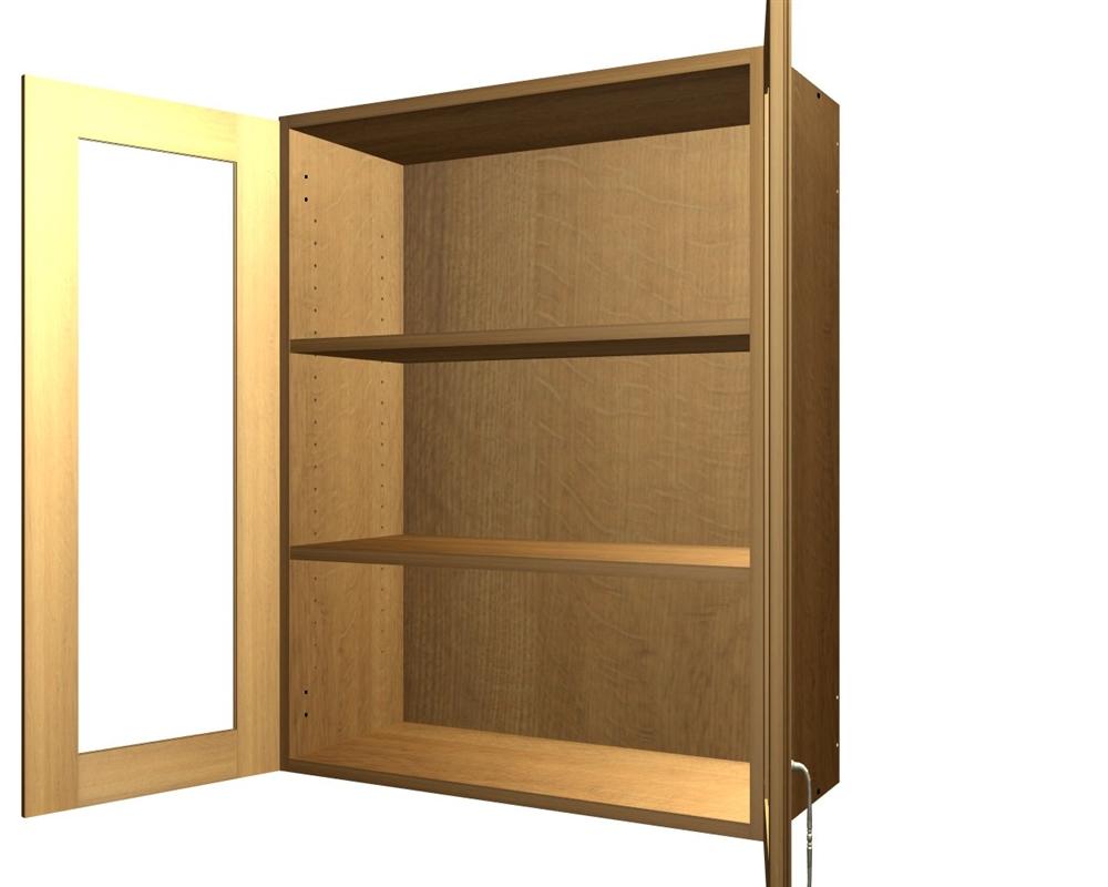 2 Gl Door Wall Cabinet