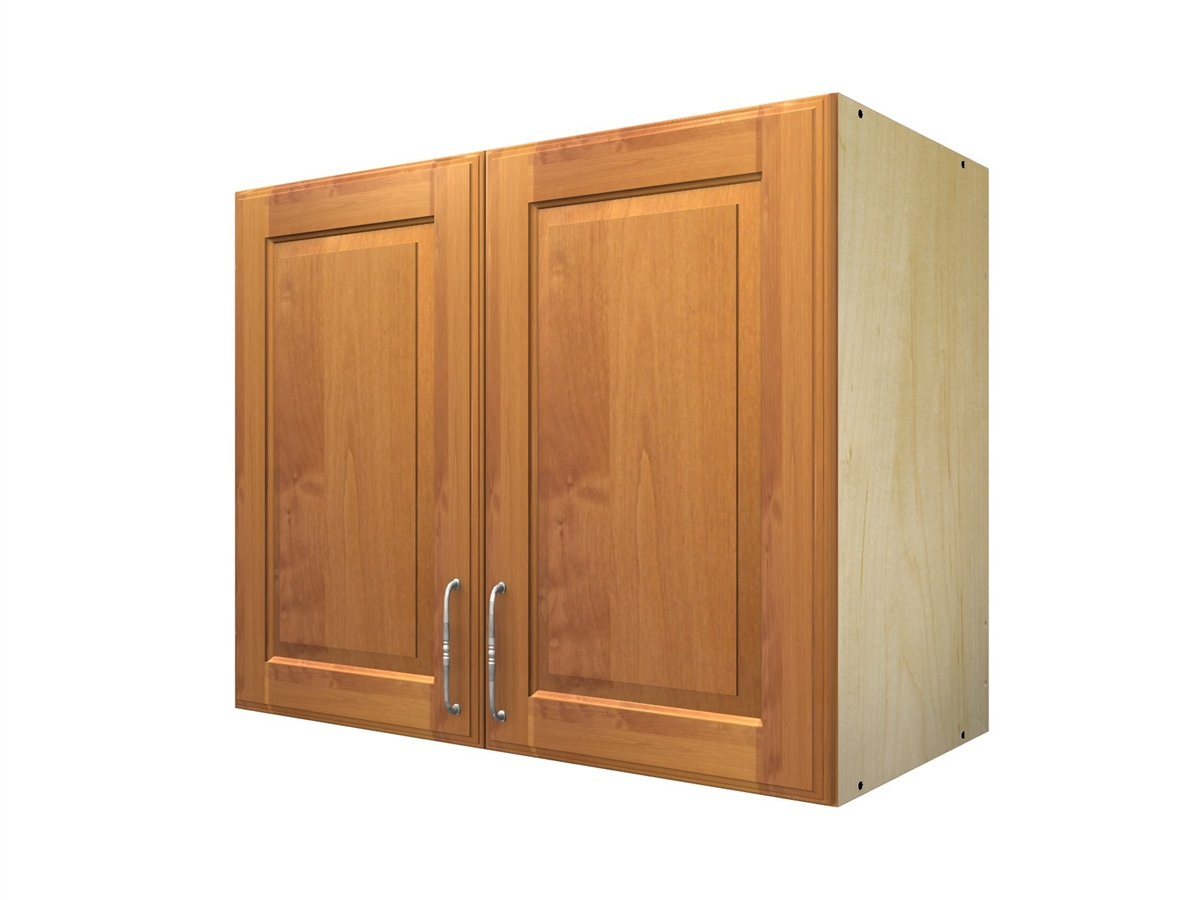 2 Door Wall Cabinet With Tray Dividers
