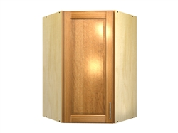 1 door 45 degree corner wall cabinet