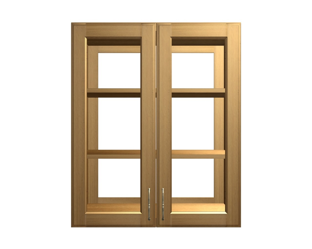 4 Glass Door Wall Cabinet ...