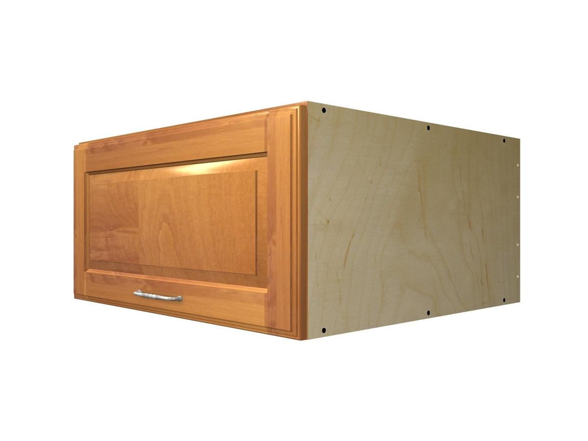 Aventos HK flip up door wall cabinet