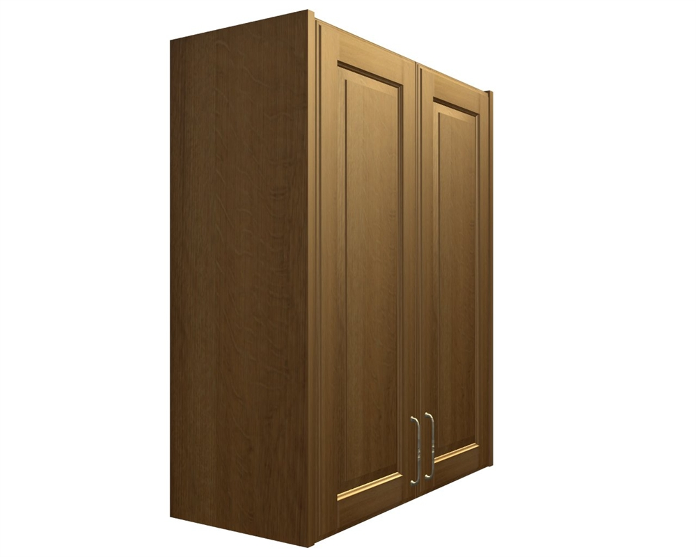 Awesome Finished End Panel   SLAB   Wall Cabinets