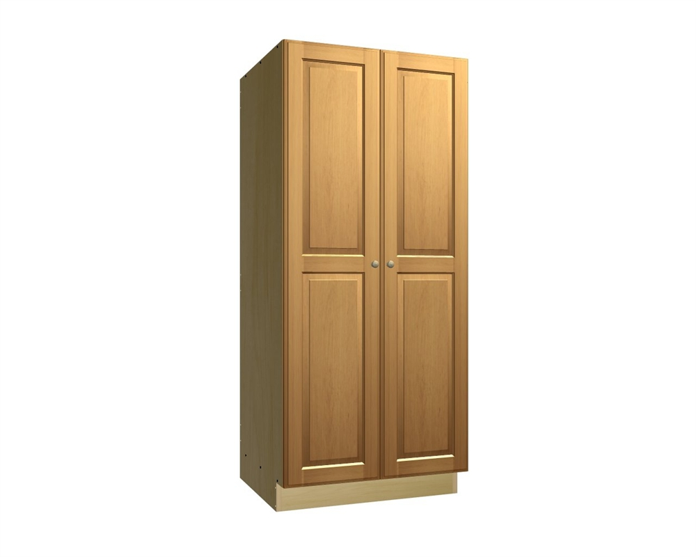 Wood Veneer Cabinet Doors 2 Door Tall Pantry Cabinet