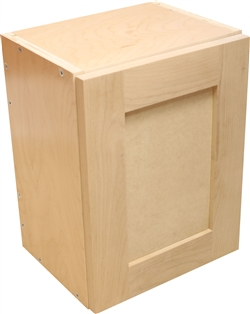 Sample Cabinet with Shaker Door (Paint Grade: frame= alder, panel= mdf)