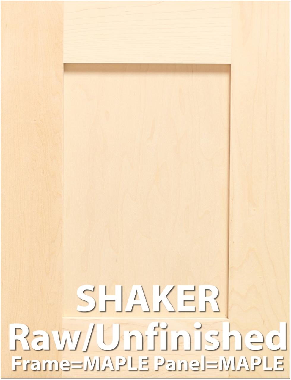 sc 1 st  Barker Cabinets & Shaker MAPLE Sample Cabinet Door