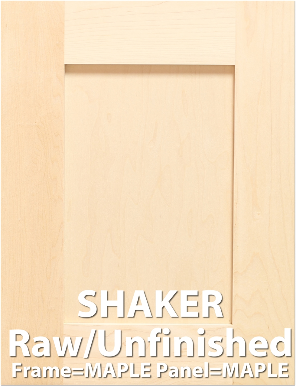 Shaker MAPLE Sample Cabinet Door Larger Photo Email A Friend