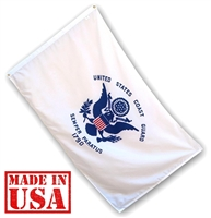 2' x 3' Coast Guard Flag - Nylon
