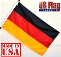 2' x 3' Germany Flag - Nylon