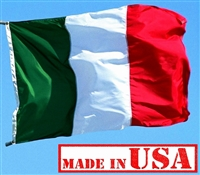 2x3 FT Italy Flag (Sewn Stripes) - Outdoor SolarMax Nylon - Made in U.S.A.