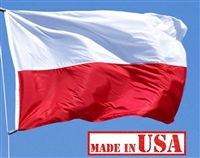 2' x 3' Poland Flag - Nylon