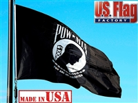 2' x 3' POW-MIA Flag - Nylon - Double Faced