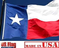 2 1/2' x 4' Texas Flag - Nylon