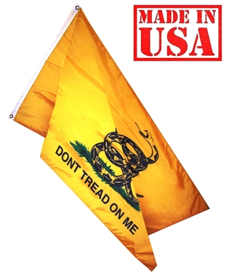 Gadsden Flag, Don't tread on me