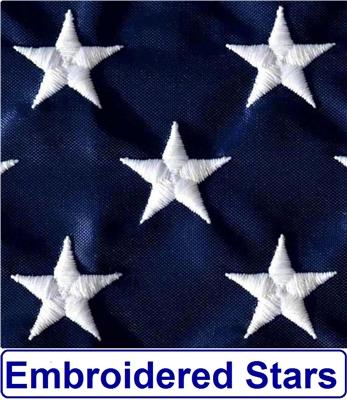 923PH Outdoor Nylon Flag US Flag Factory 2/'x3/' US American Flag Pole Sleeve
