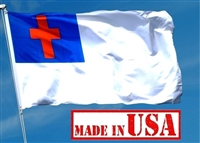 4' x 6'  Christian Flag - Nylon