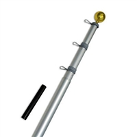 20 ft. Aluminum Telescoping Flag Pole