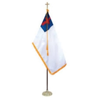 Christian Flag Indoor Set