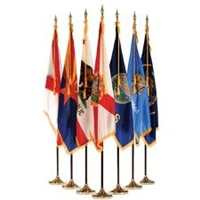 State Flag Indoor Display Set
