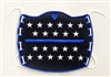 Thin Blue Line Supporter Face Mask