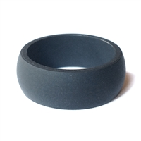 "AKTYVUSâ""¢ Matte Black Men's Silicone Wedding Band"