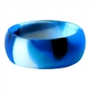 "AKTYVUSâ""¢ Blue Camouflage Men's Silicone Wedding Band"