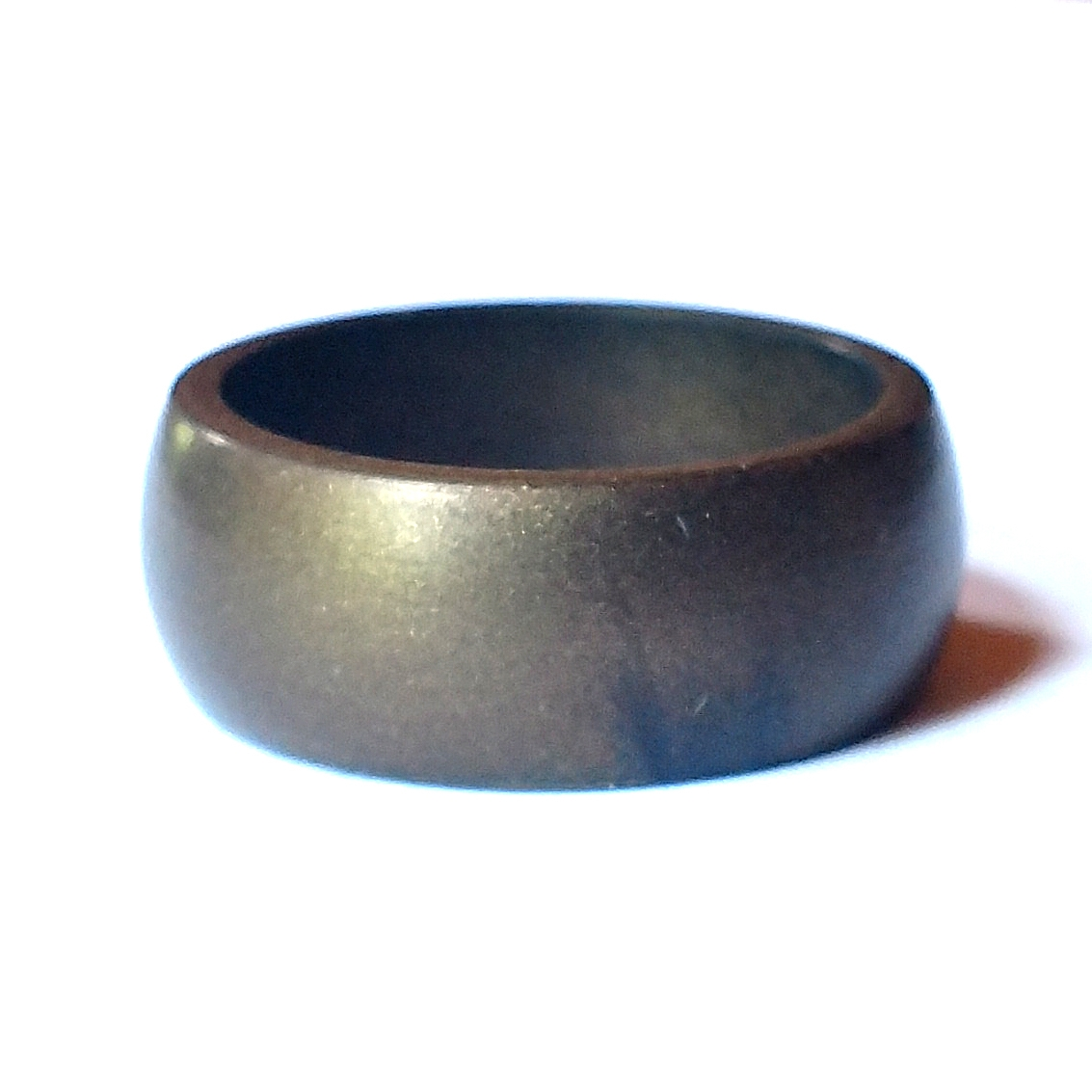 Silicone Wedding Ring.Men S Bronze Silicone Ring