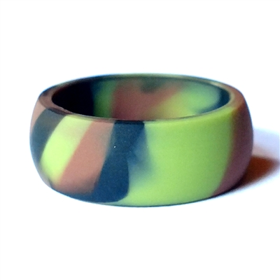 "AKTYVUSâ""¢ Low Profile Original Camouflage Men's Silicone Wedding Band"