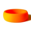 "AKTYVUSâ""¢ Orange Men's Silicone Wedding Band"