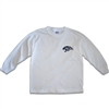 UNISEX ADULT LONG SLEEVE WHITE T-SHIRT
