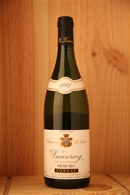 2007 Foreau Vouvray Demi Sec, 750ml