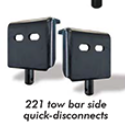 Roadmaster Quick Disconnect Brackets (RV Side) | O221