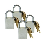 Keyed-Alike Quick-Disconnect Padlock, 4/pk | 308