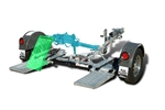 Demco Space Saving Tow Dolly, Kar Kaddy K460SS With Disc Brakes, Free Shipping, 9713045