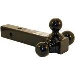 B&W Hitches Triple Tow Ball Mount for 2 Receivers