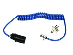 Blue Ox BX88254 7-Wire to 4-Wire Coiled Electrical Cable