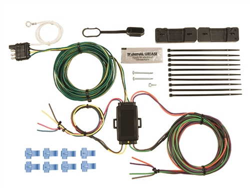 blue ox bx88285 ez light wiring harness jeep wrangler 2007 2014 mustang wiring harness ez wiring harness jeep #9