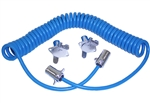 Blue Ox 6' 6-Wire Coiled Electrical Cable | BX8862