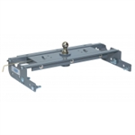 B&W Turnoverball Gooseneck Hitch - 2007-12 - Chevy/GMC - 1500 - Long Bed - New Boxed Frame - Bolts to existing holes in the frame with no drilling or welding-Solid, one-piece machined receiver socket-30,000 lbs. Trailer Weight-7,500 lbs Tongue Wgt