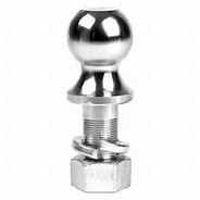 B&W Hitches 16K Trailer Hitch Ball; 2-5/16 Inch x 1-1/4 Inch x 2-1/2 Inch Ball; 16000 Pound Gross Weight Capacity; Chrome; Steel