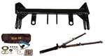 Blue Ox Tow Bar Baseplate BX1724 GMC '15-19 Pickup 2500 Sierra (All trims) Complete RV Towing Package With Alpha Towbar
