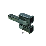 "Dual Hitch Receiver 2"" Drop 