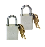 Roadmaster 302 Keyed Alike Quick Disconnect Padlocks, 2/pk